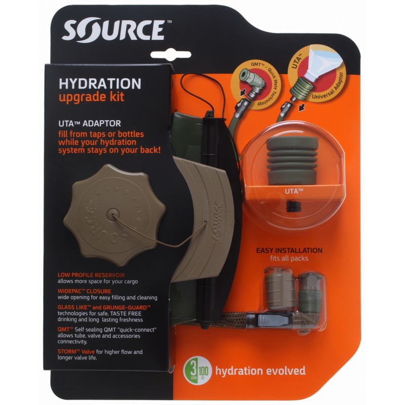 The Source Hydration Upgrade Kit with Bladder - Defense Techniques ... 6b184a012e5f