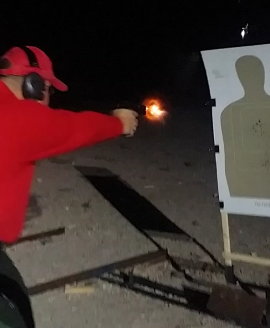 Low light/No light Handgun Techniques