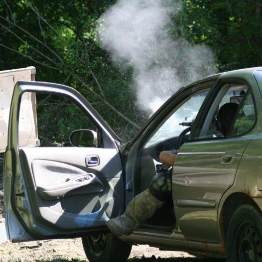 Vehicle CQB (rifle/pistol)