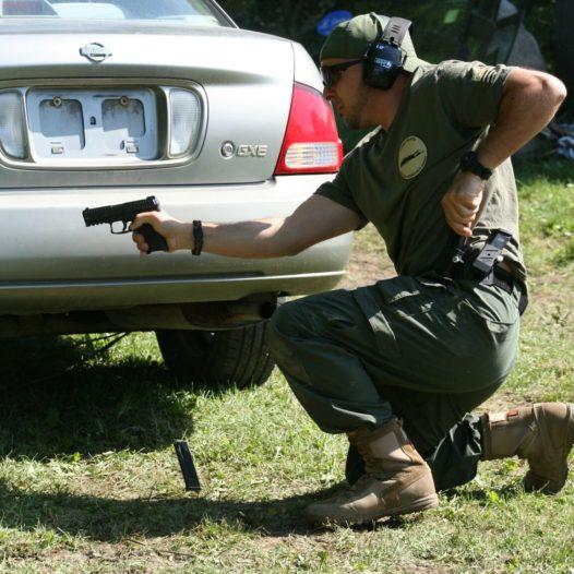 Vehicle CQB (Handgun)